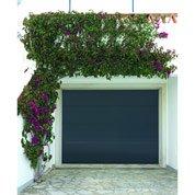 Porte de garage sectionelle motorisée Chypre, rainures horizontales, 200x240cm