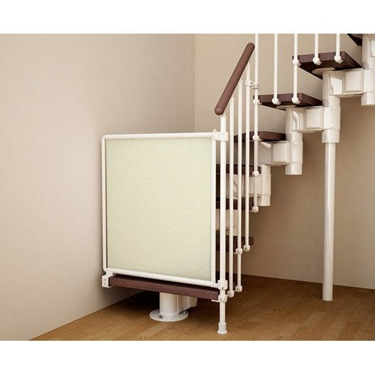 Barri re s curit escalier kalypto en m tal long min max 54 82 cm h73 cm - Leroy merlin barriere securite ...
