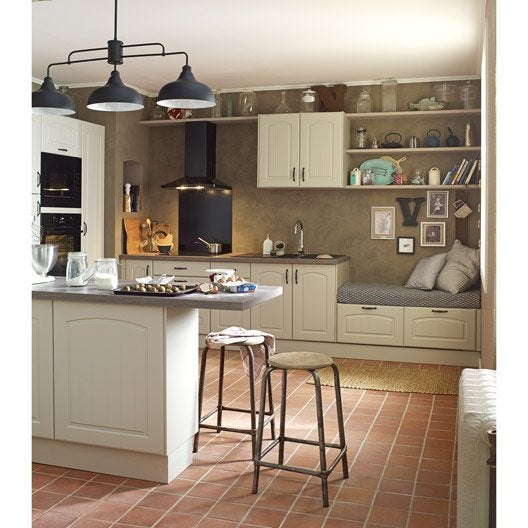 joue colonne de cuisine chanvre ol ron l65 x h200 cm leroy merlin. Black Bedroom Furniture Sets. Home Design Ideas