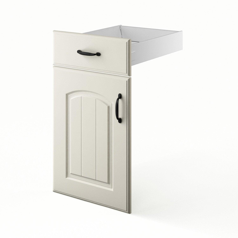 porte et tiroir de cuisine chanvre ol ron x x cm leroy merlin. Black Bedroom Furniture Sets. Home Design Ideas