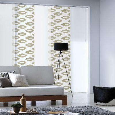 tout savoir sur les panneaux japonais et les stores californiens leroy merlin. Black Bedroom Furniture Sets. Home Design Ideas