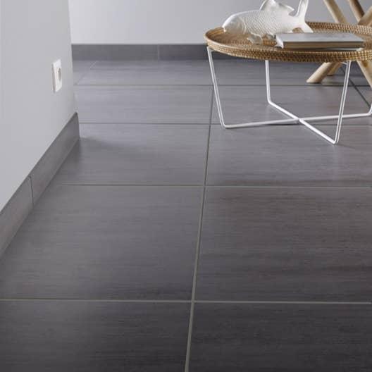 carrelage sol et mur gris clair effet b ton eiffel x cm leroy merlin. Black Bedroom Furniture Sets. Home Design Ideas