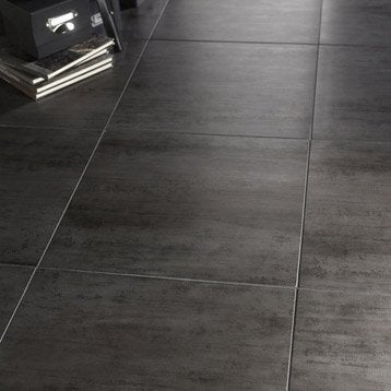 Carrelage int rieur sol et mural leroy merlin for Carrelage interieur gris anthracite