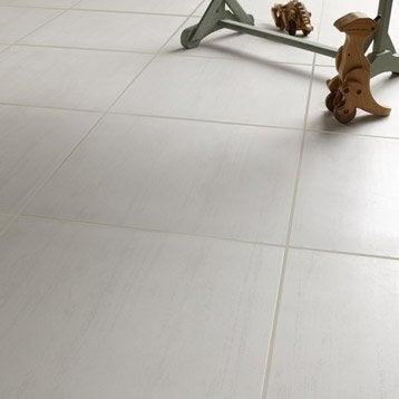 Carrelage int rieur sol et mural leroy merlin - Carrelage blanc gris ...