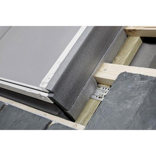 raccord pour fen tre de toit velux el sk06 6000 gris. Black Bedroom Furniture Sets. Home Design Ideas