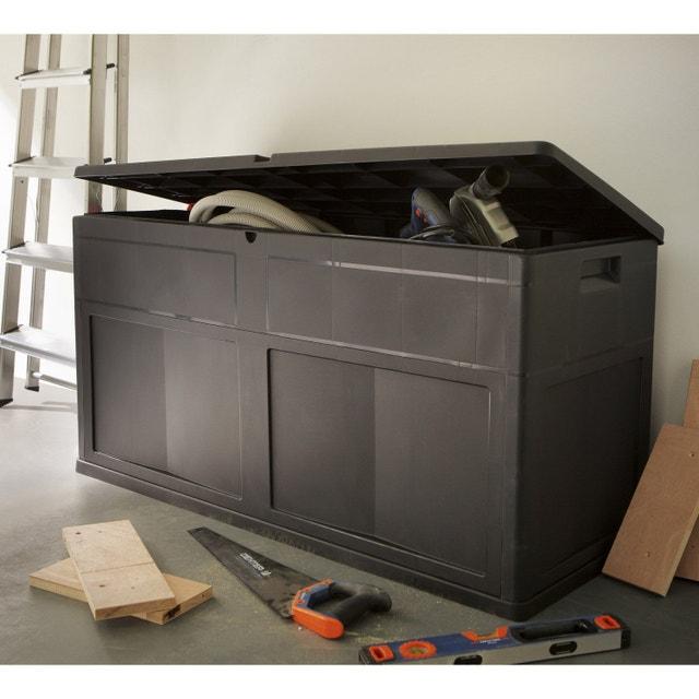 un coffre de rangement pour votre espace terrasse leroy. Black Bedroom Furniture Sets. Home Design Ideas