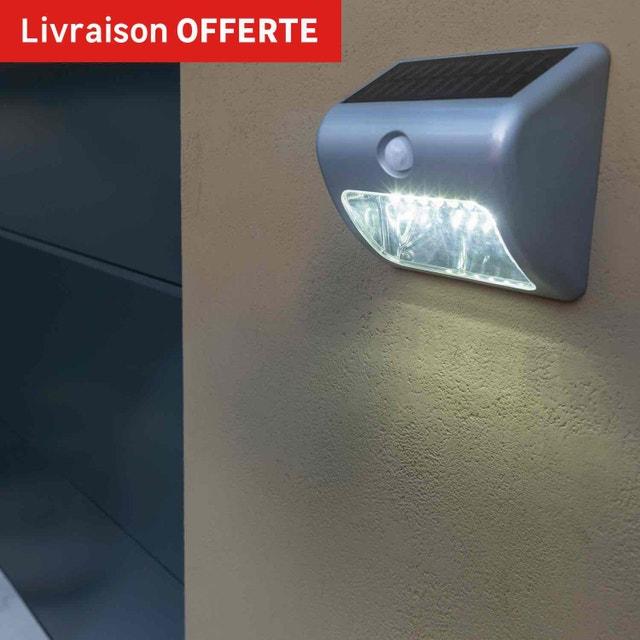 Aux abords du garage une applique solaire avec d tecteur de mouvement leroy merlin - Detecteur de mouvement leroy merlin ...