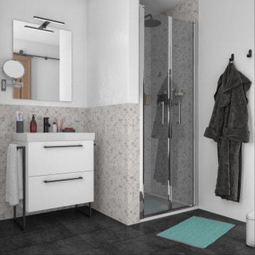 Meuble De Salle De Bain Meuble Vasque Miroir Colonne Rangement