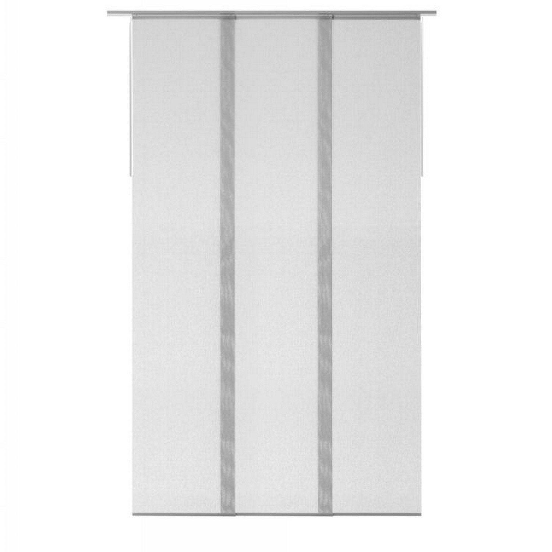 Panneau Japonais Fenetre Pvc panneau japonais gris, enduit h.250 x l.140 cm
