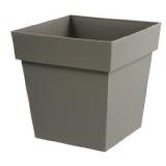 Pot r serve d 39 eau toscane eda l39xh53xl39 cm for Pot exterieur xxl