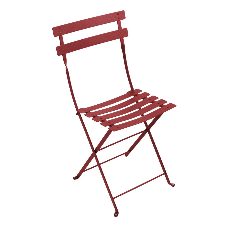 Chaise acier jardin de piment en Bistro nOXN8wP0k