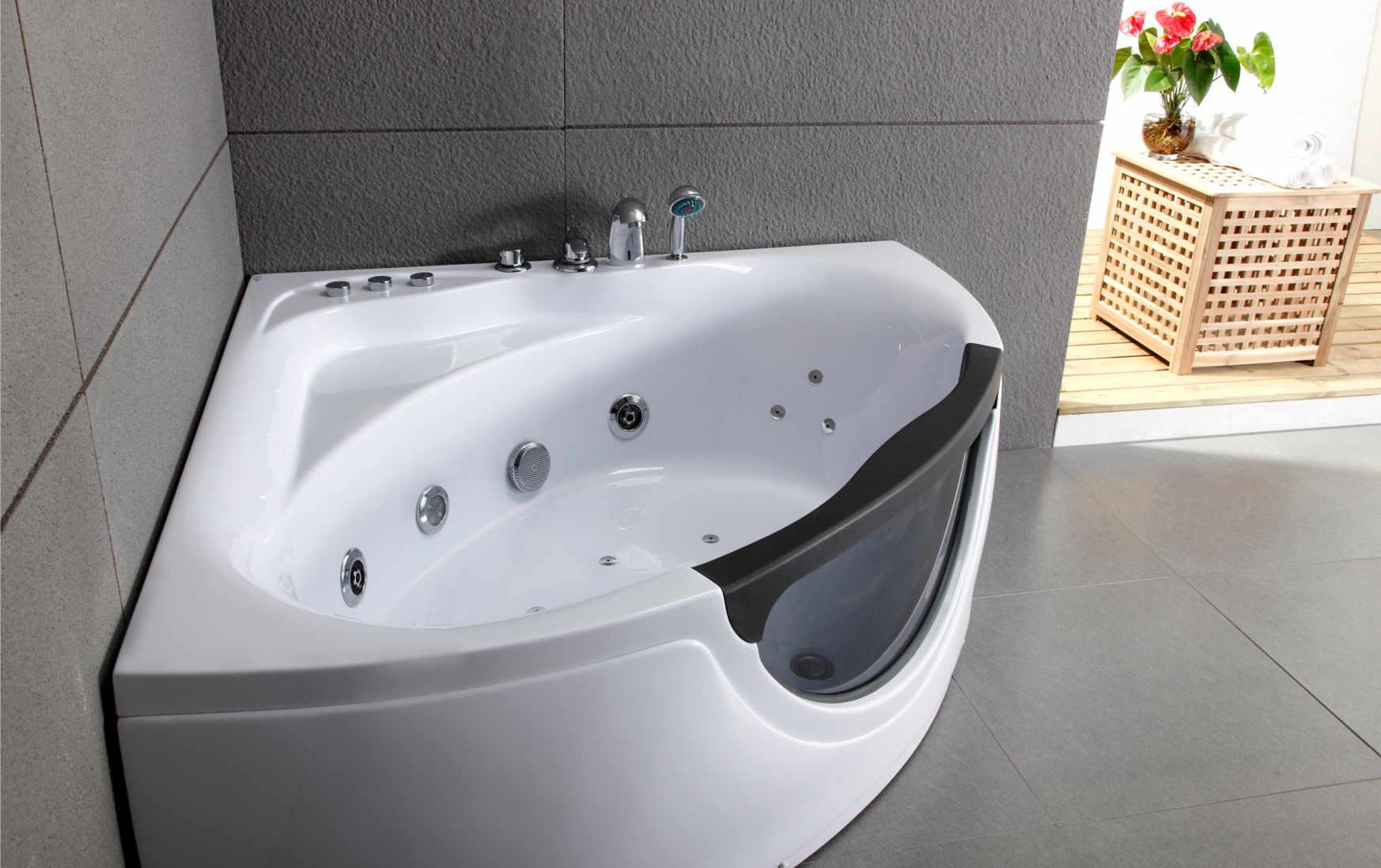 Tout savoir sur la baignoire baln o leroy merlin for Combine baignoire douche balneo