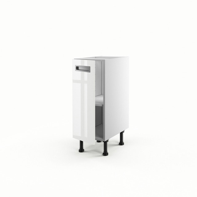 une cuisine blanche et lumineuse leroy merlin. Black Bedroom Furniture Sets. Home Design Ideas