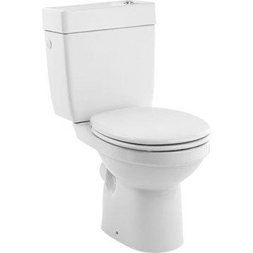 Wc poser wc abattant et lave mains toilette leroy merlin - Leroy merlin toilette ...