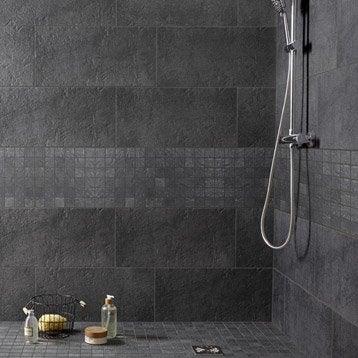 Carrelage mural et fa ence pour salle de bains et cr dence - Carrelage clipsable leroy merlin ...