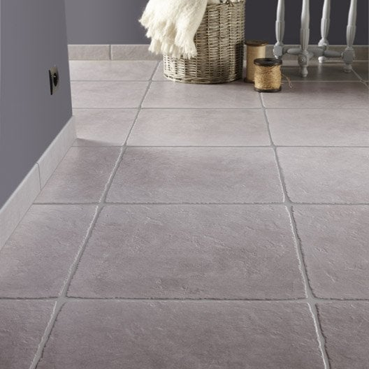 Carrelage ton pierre for Rehausse beton 50x50 castorama