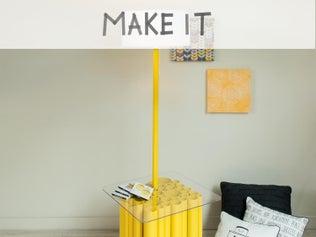 DIY : Transformer des tubes PVC en un objet de décoration unique
