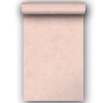 Papier peint intissé rose