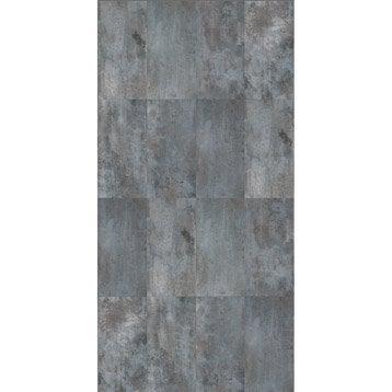 Panneau H.240 cm x l.120 cm, DECO K IN, Acier brillant