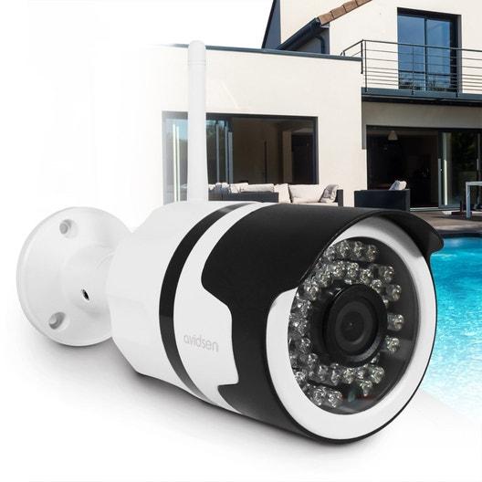 cam ra de surveillance vid osurveillance au meilleur prix leroy merlin. Black Bedroom Furniture Sets. Home Design Ideas