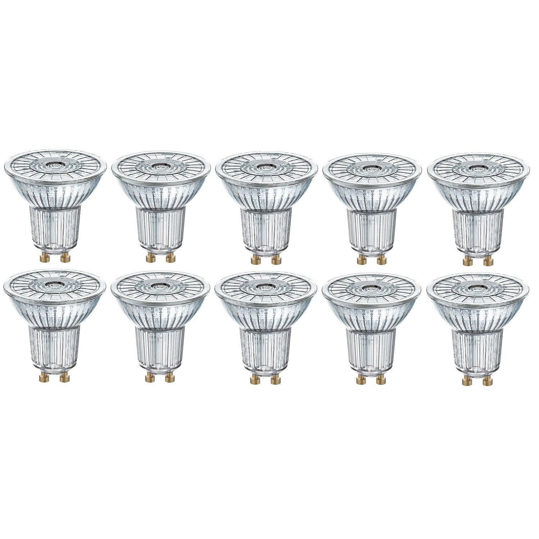 Spot 5w350lméquiv 10 De Led Osram Ampoules Gu10 Pour 3 36° 50w4000k Lot qMVzSUp