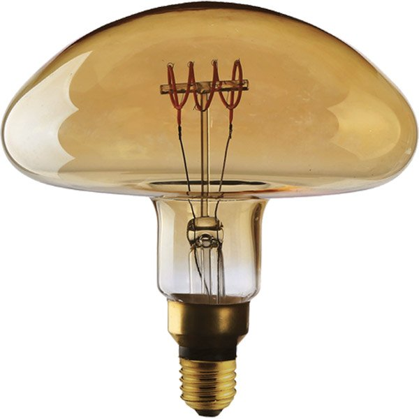 Ampoule Filament Led Champignon E27 5w 250lm 2000k Sampa