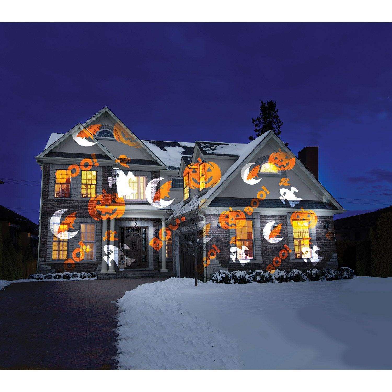 eclairage exterieur facade maison LASER OUTDOOR Projecteur Éclairage extérieur étanche Jardin déco Lumière de  Noël cadeau enfant famille illumination façade Maison Lumières