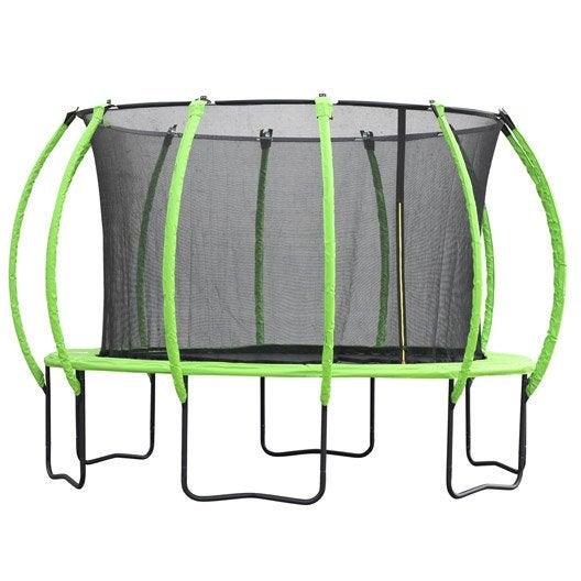 trampoline ext rieur pour enfants au meilleur prix leroy. Black Bedroom Furniture Sets. Home Design Ideas