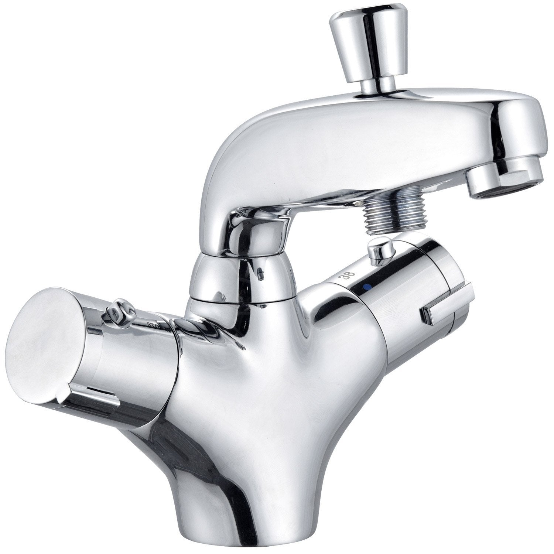 ENKI Mitigeur thermostatique grand de baignoire douchette