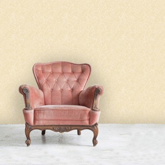 papier peint intiss valence cru leroy merlin. Black Bedroom Furniture Sets. Home Design Ideas