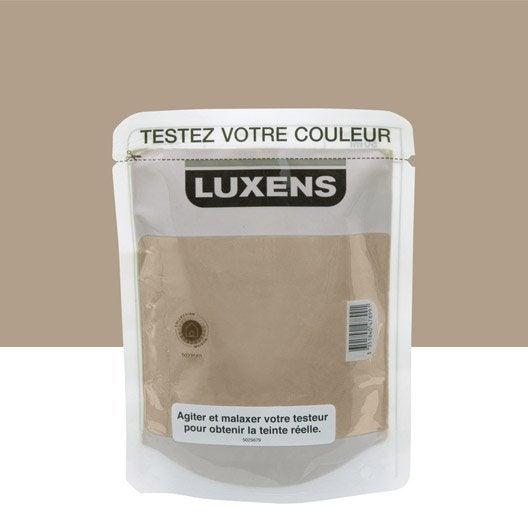 Testeur peinture brun chocolat 5 luxens couleurs for Peinture couleur chocolat