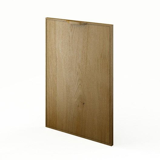 Porte de cuisine ch ne f50 origine l50 x h70 cm leroy merlin - Porte de garage hauteur 220 ...
