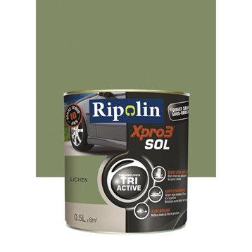 Peinture sol extérieur / intérieur Xpro 3 RIPOLIN, lichen, 0.5L
