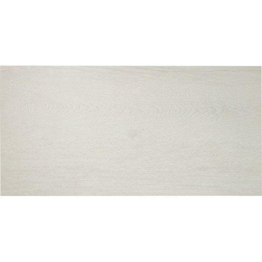 Carrelage sol et mur bois blanc effet bois easy 4 fine paisseur x - Carrelage fine epaisseur leroy merlin ...