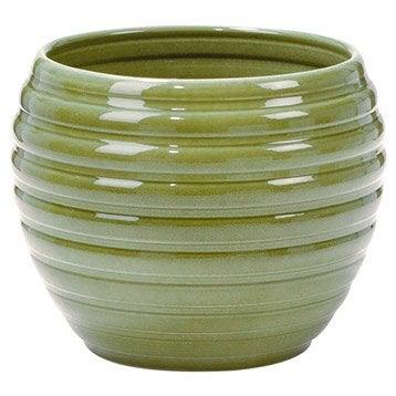 pot de fleurs, jardinière, poterie décorative   leroy merlin