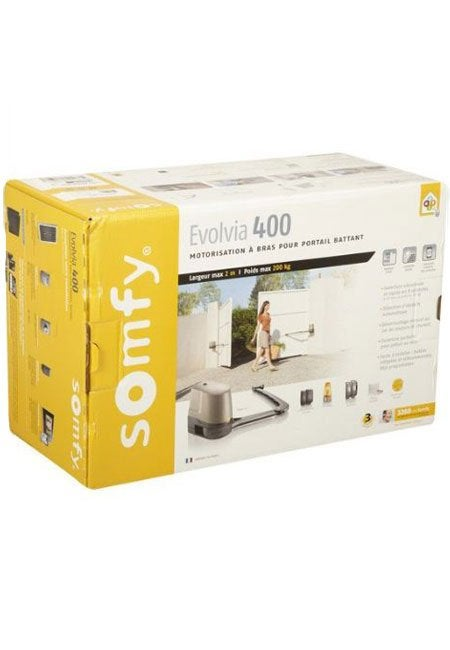 motorisation de portail connect bras somfy evolvia 400. Black Bedroom Furniture Sets. Home Design Ideas