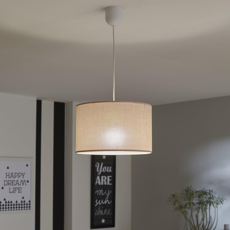 habiller votre plafond d 39 un lustre en tissu rose leroy. Black Bedroom Furniture Sets. Home Design Ideas