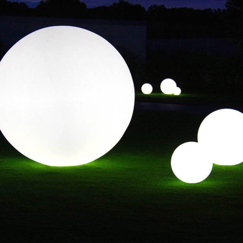 Globo 80 Max Out Diam 25w Blanc Cm Lampe Extérieure Slide 2IWEDH9