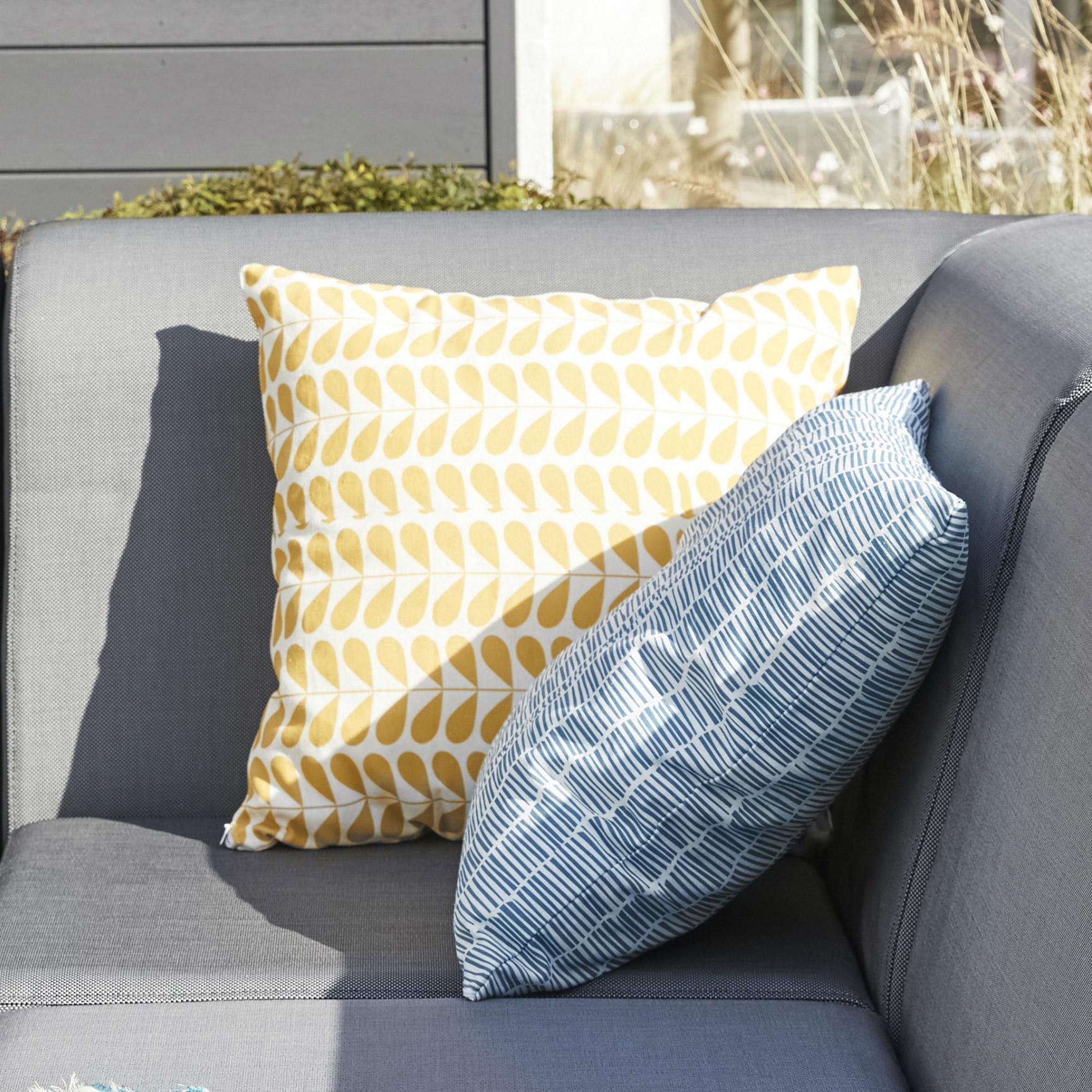 Coussin d'assise de chaise ou de fauteuil Feria, solemio l.40 x H.10 cm