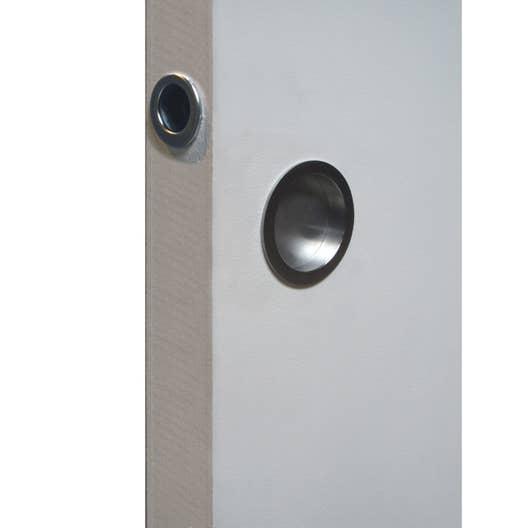 Poignée, tire-doigt pour porte coulissante pleine ou vitrée ECLISSE ...