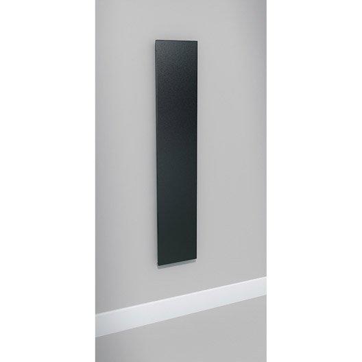 radiateur chauffage central colima gris anthracite sabl cm 957 w leroy merlin. Black Bedroom Furniture Sets. Home Design Ideas