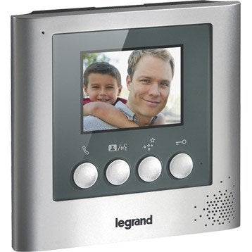 Interphone visiophone 2 fils LEGRAND 369100