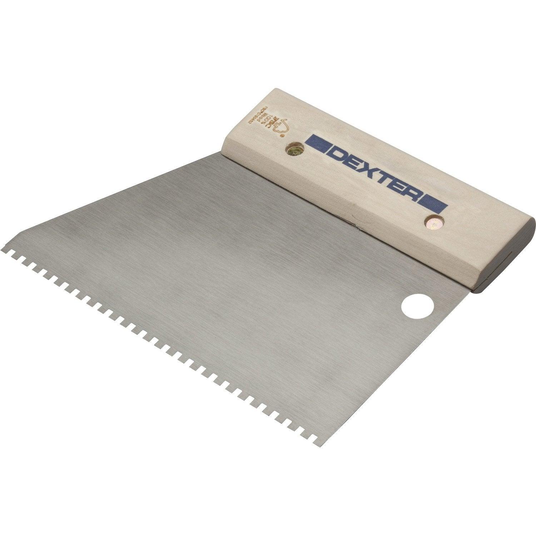 Couteau Colle Pour Lino Et Moquette Dexter 18 Cm Leroy Merlin ~ Enlever Colle Lino Sur Escalier Bois