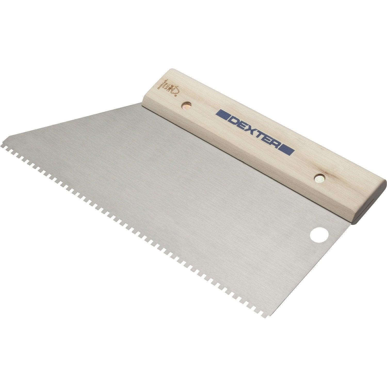 Couteau Colle Pour Lino Et Moquette Dexter 28 Cm Leroy Merlin ~ Enlever Colle Lino Sur Escalier Bois