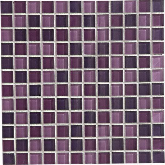 mosa que glass mix artens violet tulipe cm. Black Bedroom Furniture Sets. Home Design Ideas