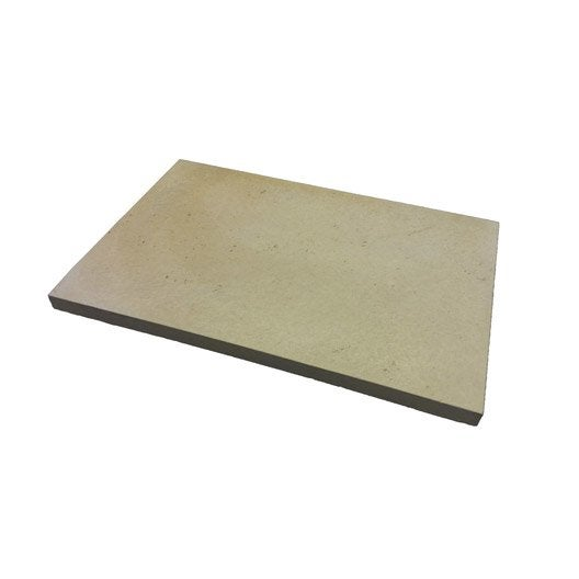 dalle b ton distencia beige x cm x mm leroy merlin. Black Bedroom Furniture Sets. Home Design Ideas