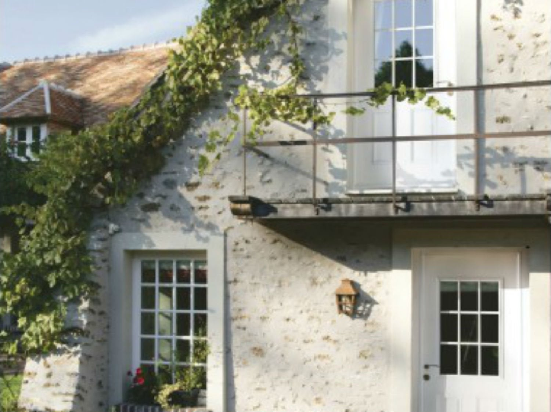 Une maison isolée, son authenticité préservée