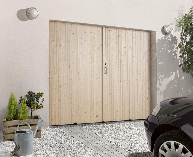 Une porte de garage 4 vantaux leroy merlin for Fabriquer une porte de garage 4 vantaux