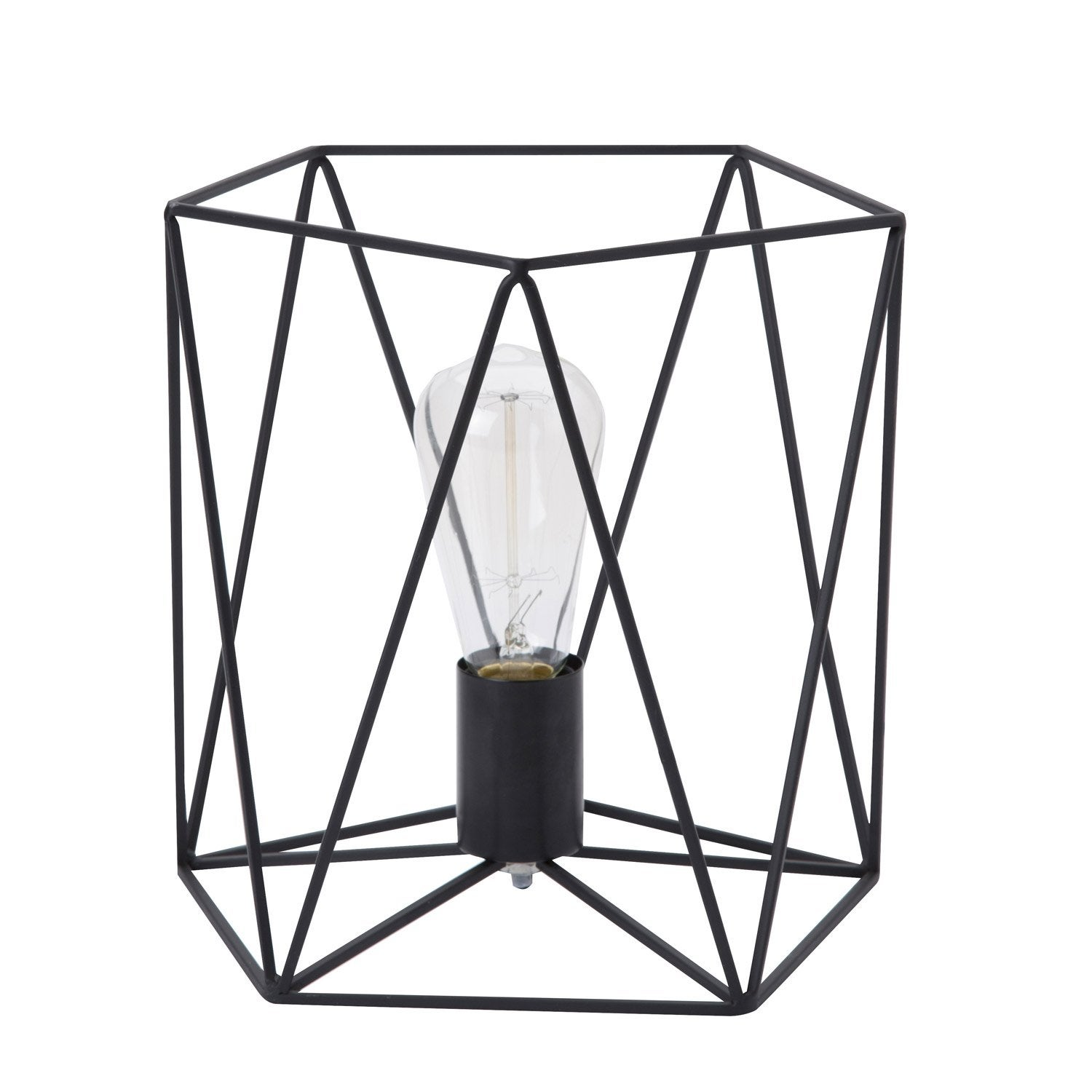 cool lampe e andrews lussiol mtal noi w with scie a ruban. Black Bedroom Furniture Sets. Home Design Ideas