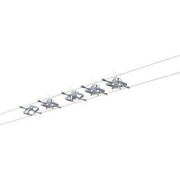 Kit complet câble PAULMANN Mac ii GU5.3, 5 x 10 W